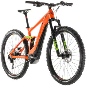 Cube Stereo Hybrid 120 Race 500, orange'n'green